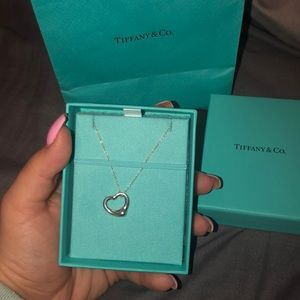 Brand new Tiffany and co heart necklace